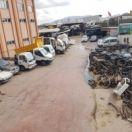 Hurda Arac Depolama Tesisleri İstanbul 02166617110