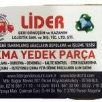 Beşiktaş İlçesi (ÖTA) Ömrünü Tamamlamış Araçların Depolama ve Teslim Yeri 02166617110