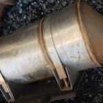 ford cargo orjinal çıkma katalizator 05327102145