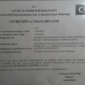 Zeytinburnu ÖTA teslim yeri 0216617110