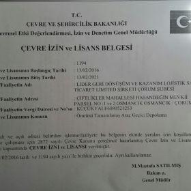 Çekmeköy ÖTA teslim yeri 0216617110